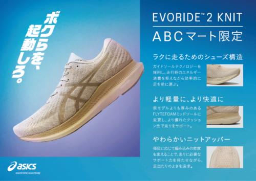 asics Evo Ride Knit2