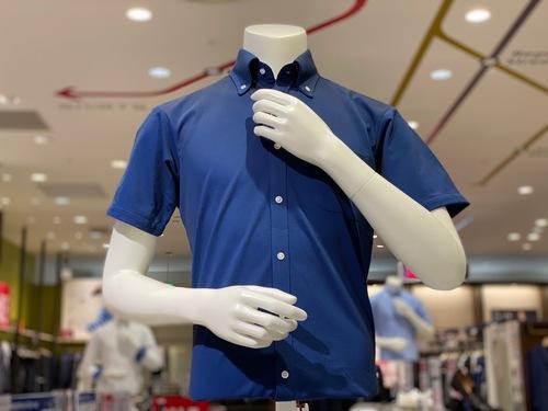 半袖ポロシャツ半身トルソー
