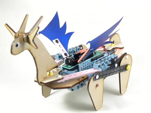ドラゴン型ロボット