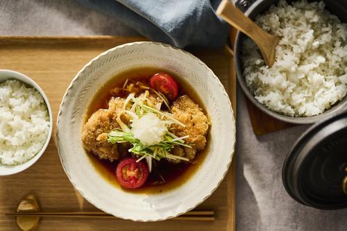 【ていねいに作って食べよう 鶏のみぞれ煮 鍋炊きごはん 】