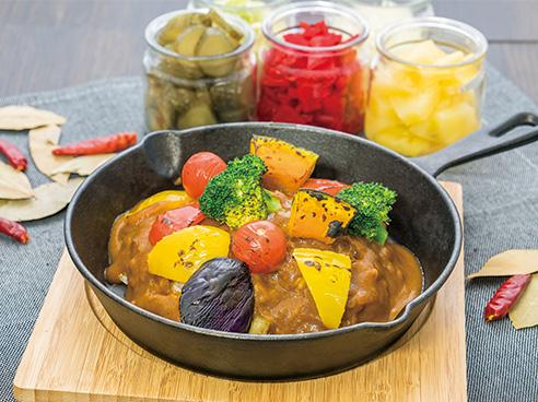 野菜カレーの画像