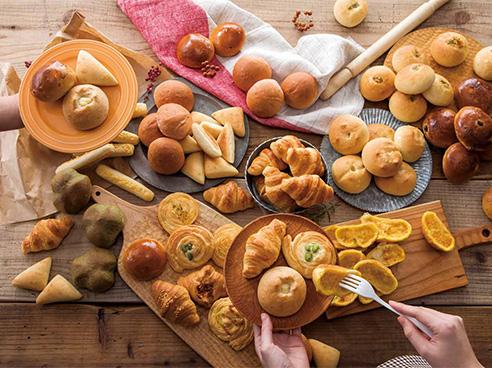 パン食べ放題の画像